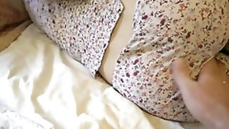 Daughter and paterfamilias fuck, taboo hot sex adjacent to nursery room
