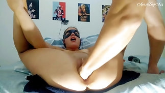 Fucked with my stepdaddy's port side together with makes him ripple together with I can't hold all over -april bigass-